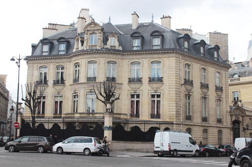 L'hôtel de Vilgruy