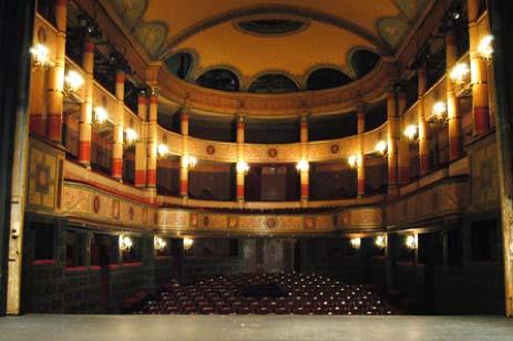 Le Conservatoire National Supérieur d'Art Dramatique : le théâtre à l'italienne construit en 1811