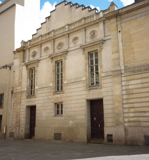 Le Conservatoire - Façade sur la rue Sainte-Cécile