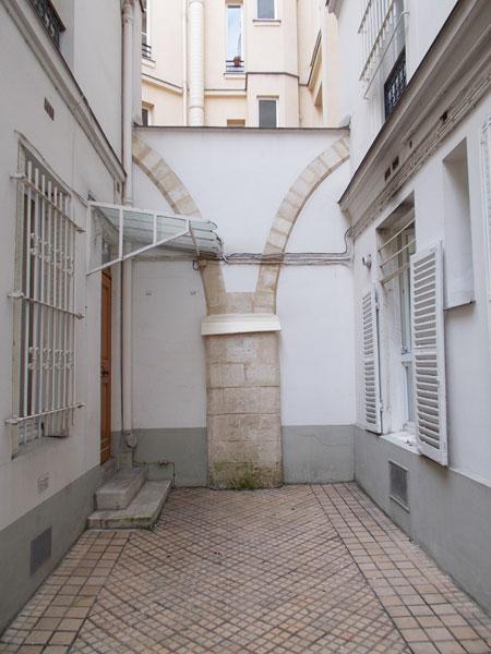 Les vestiges de l'abbaye Saint-Marcel