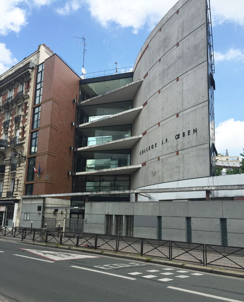 Le collège Jean-François Oeben