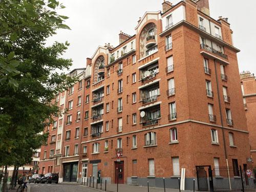 Les HBM Rue Brillat-Savarin