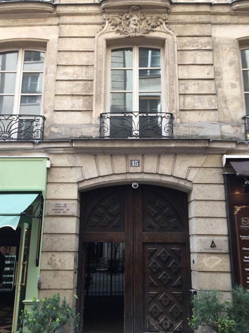 La maison Robillard : le portail