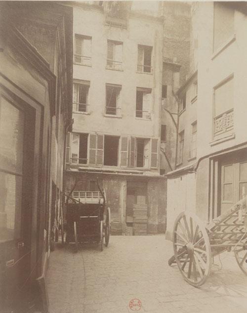 La cité Beaurepaire alors maison de roulage - Photographie ancienne