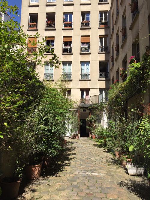 La cité Beaurepaire