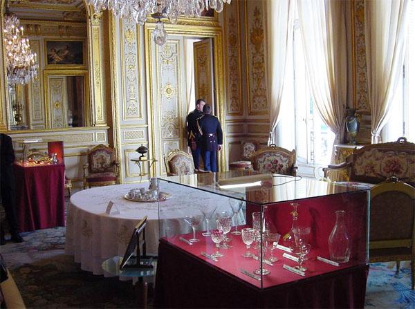 L'hôtel de Marigny : un salon