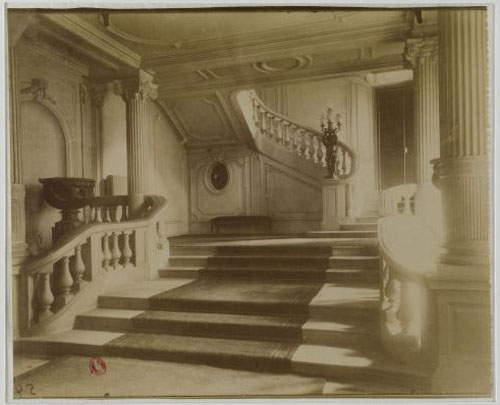 L'hôtel Baudard de Saint-James : le grand escalier