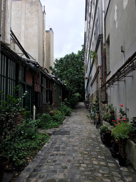 Ateliers d'artistes Boulevard de Clichy