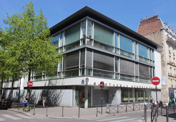 La bibliothèque Georges Brassens et ateliers municipaux