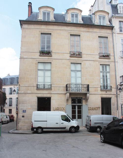 L'hôtel de Sillery-Genlis - La façade sur le quai de Conti