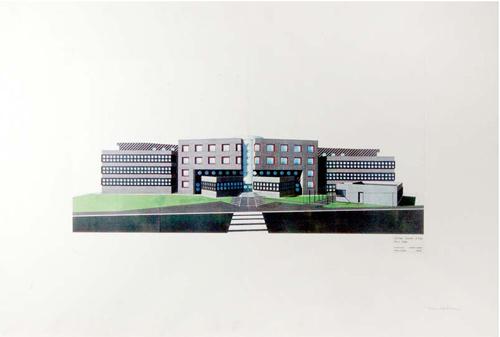 Le collège Vincent d'Indy - Dessin