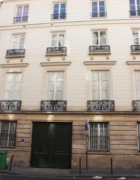 L'hôtel de Sully-Charost : la façade sur rue