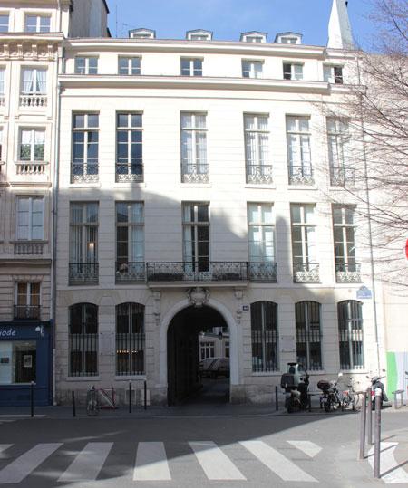 L'hôtel de Rochambeau