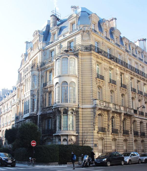 Hôtel particulier rue Rembrandt