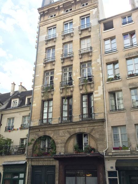 La maison de la confrérie Notre-Dame aux Bourgeois