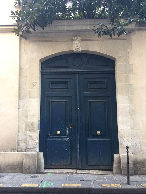 L'hôtel du Tillet : le portail