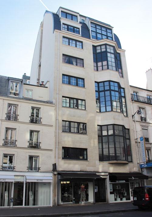 Logements-ateliers Rue Lecourbe