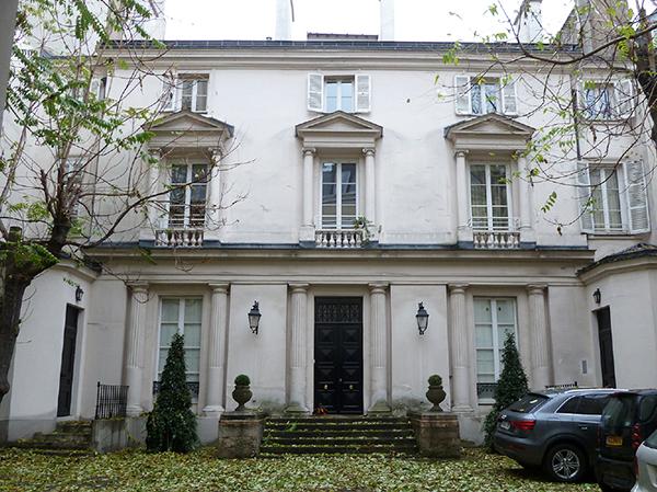 L'hôtel Rousseau, état actuel