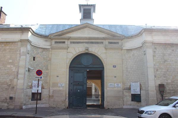La maison de Santé des Sœurs Augustines : le portail