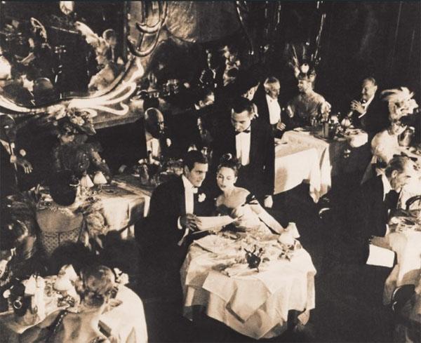 Le restaurant Maxim's - Photographie ancienne