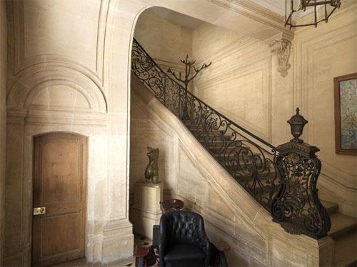 L'hôtel de Marcilly : le vestibule et l'escalier d'honneur