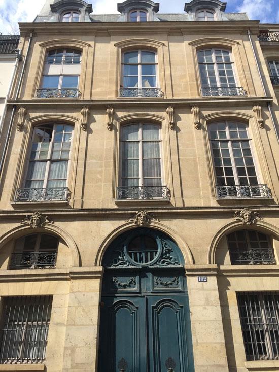 L'hôtel de Sainte-Aldegonde
