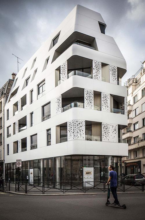 Logements sociaux Rue de la Croix-Nivert