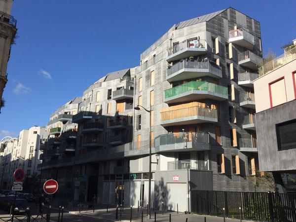 Logements sociaux Rue de Saussure
