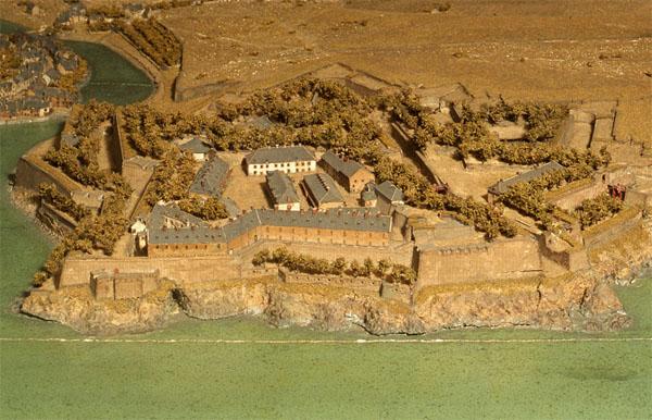 Le musée des Plans-Relief : Belle-Isle, la citadelle et le Palais
