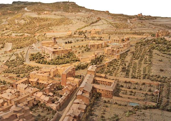 Le musée des Plans-Relief : Rome