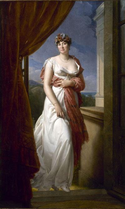 Portrait de Mme Tallien par le baron Gérard, vers 1804