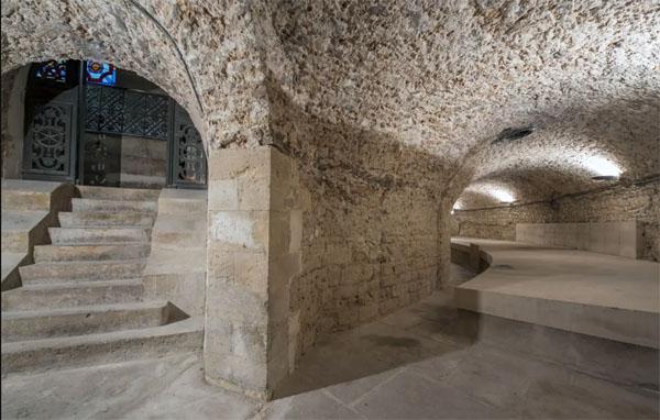 La crypte de la colonne de Juillet