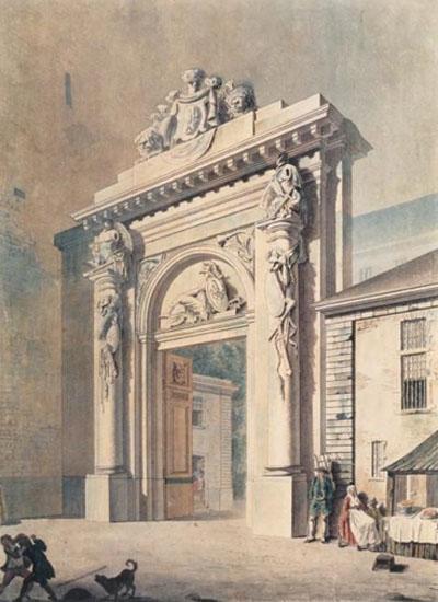 L'hôtel d'Uzès : le portail