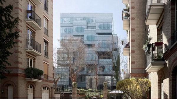 Immeuble de logements Nuages