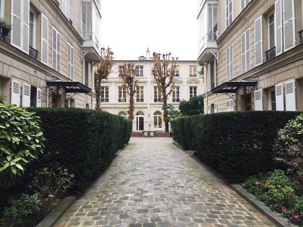 Le square Monceau