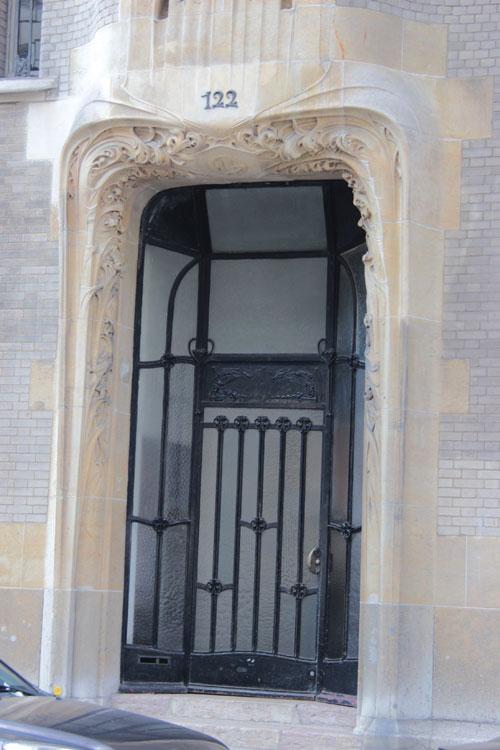 L'hôtel Guimard : la porte d'entrée