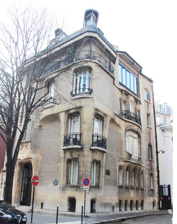 L'hôtel Guimard
