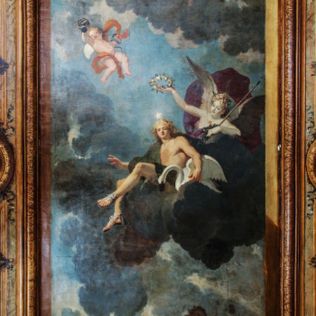 L'hôtel des Saints-Pères : la chambre à la fresque