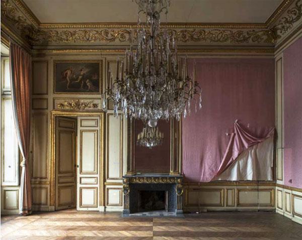 L'hôtel de la Marine : appartement de l'intendant - Chambre de Mme de Ville-d'Avray