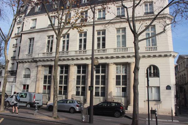 La maison de l'architecte Brongniart