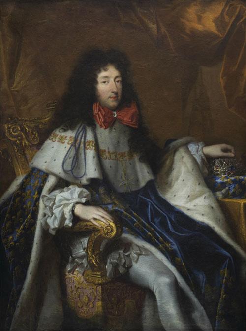Portrait du duc d'Orléans, frère de Louis XIV, par Claude Lefebvre ou Louis Ferdinand Elle l'aîné