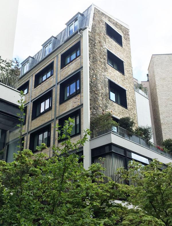 Beaupassage : l'un des deux bâtiments à charpente métallique datant du début du XXe siècle