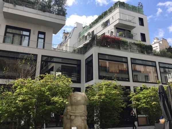 Beaupassage : les logements construits aux étages supérieurs