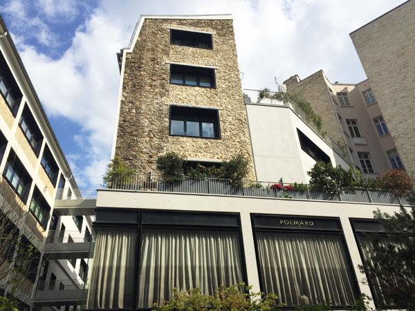 Beaupassage : bâtiments industriels du XXe siècle et agrandissement contemporain en béton brut