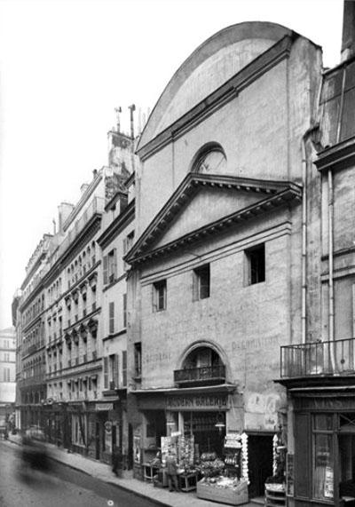 L'église du couvent des Récollettes