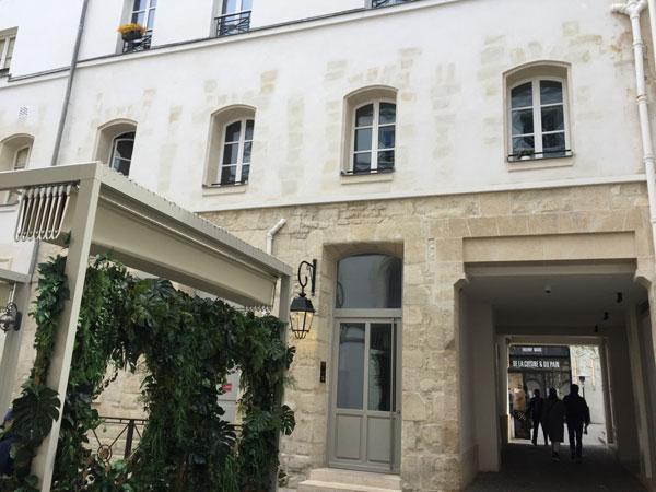 Les vestiges du couvent des Récollettes : le bâtiment qui abritait le réfectoire et le dortoir