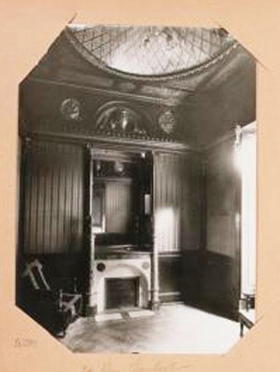 L'hôtel Bélanger : boudoir Empire - Photographie de Charles Lansiaux - 1919