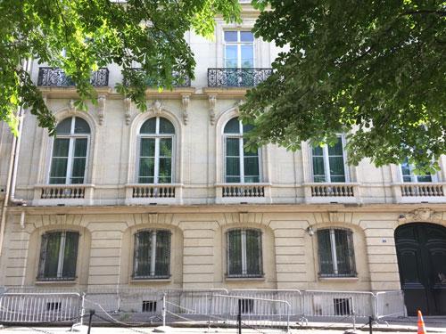 L'hôtel Deutsch de La Meurthe