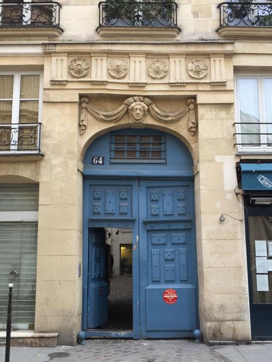 L'hôtel Saulger : le somptueux portail du XVIIe siècle
