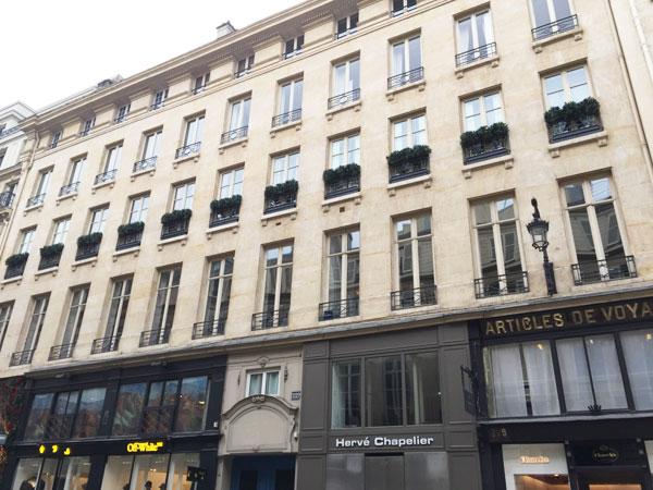 Immeuble locatif 229 rue Saint-Honoré